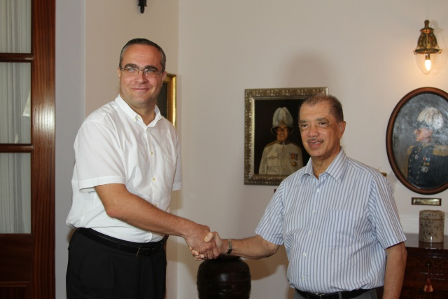 Slovakia offers Seychelles support in development of medical professionals