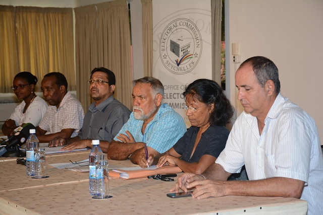 Seychelles Electoral Commission postpones scheduled dates for presidential elections, saying most parties needed more time to prepare