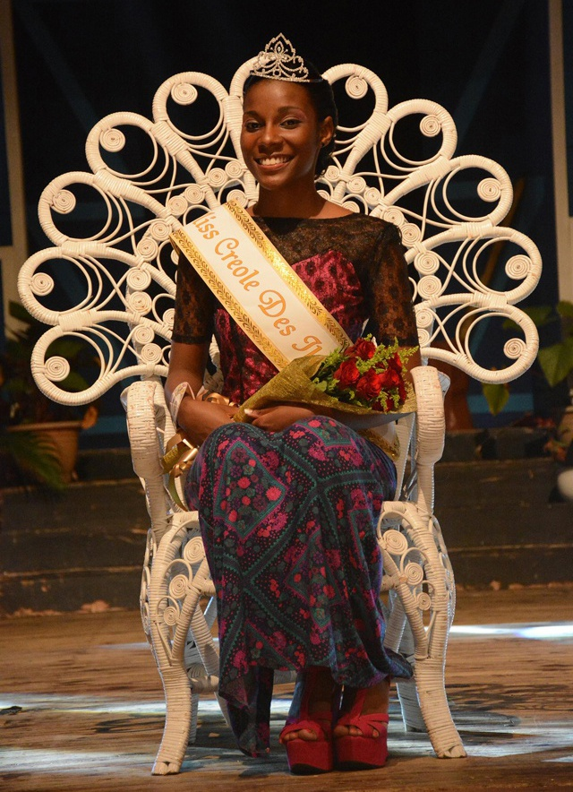 Ready for the journey to promote the Creole culture and tradition - Debbie Horsman is crowned Miss Creole des iles International