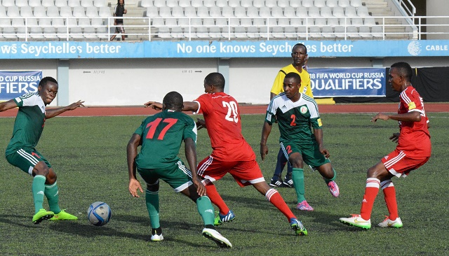 Seychelles exits 2018 World Cup qualifiers after losing second leg match 2-0 against Burundi