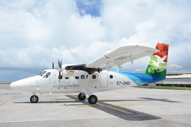New DHC-6 Twin Otter Series 400 joins Air Seychelles domestic fleet