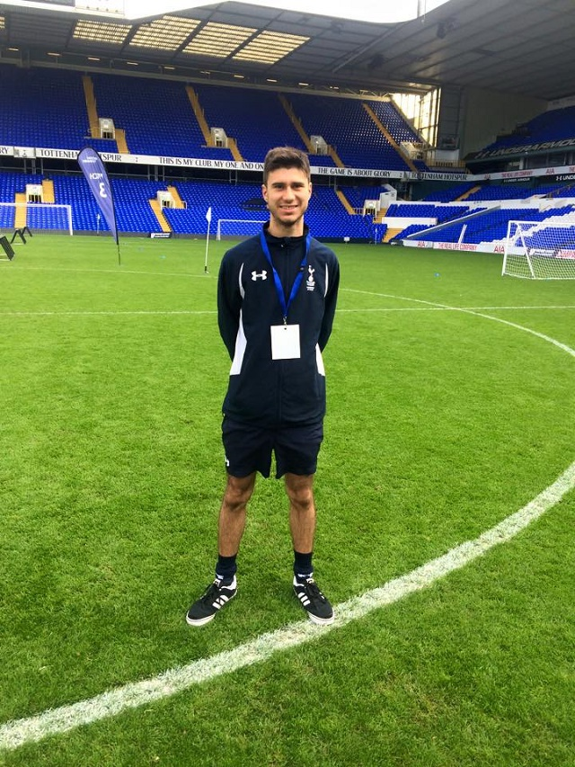 Turning passion for his favourite sport into a career - Seychellois Reza Udwadia pursues football coaching dreams, studying at London-based Tottenham Hotspur Foundation