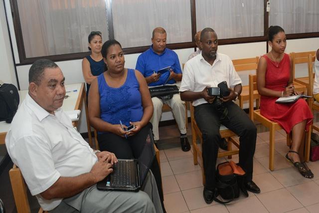 Les acteurs des télévisions et radios francophones sont aux Seychelles pour parler d'Équilibre Femmes/Hommes dans les médias