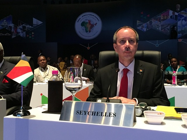 Seychelles has welcomed new framework of cooperation adopted at the end of the third India-Africa summit