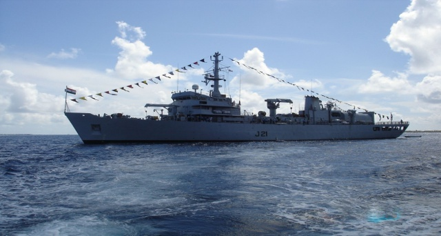 Indian naval ship 'INS Darshak' on one-month mission to gather hydrographic data in Seychelles