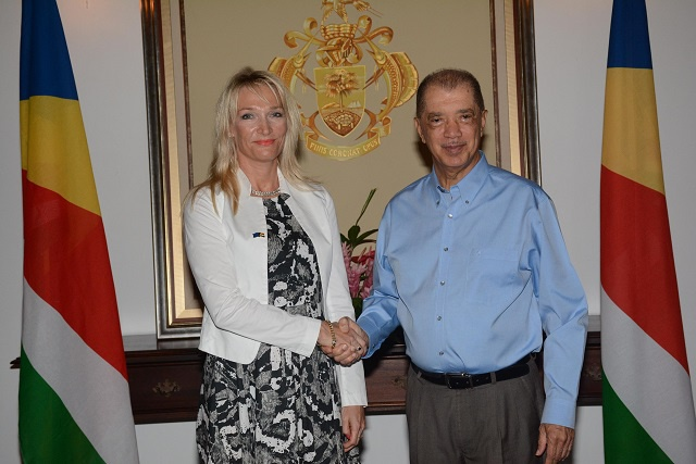 More funding from the European Union - new ambassador promises continued support and assistance to Seychelles