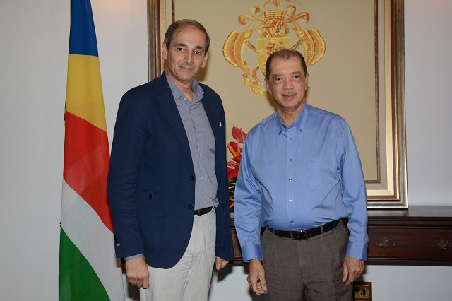 Promoting the Spanish language and culture highlighted as Spain's new ambassador is accredited to Seychelles