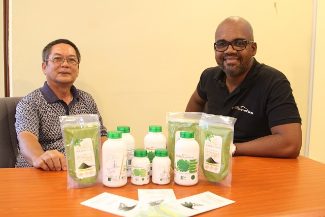 Tapping into the potential of the 'miracle tree'! Seychellois entrepreneurs venture into producing food supplements from the Moringa tree