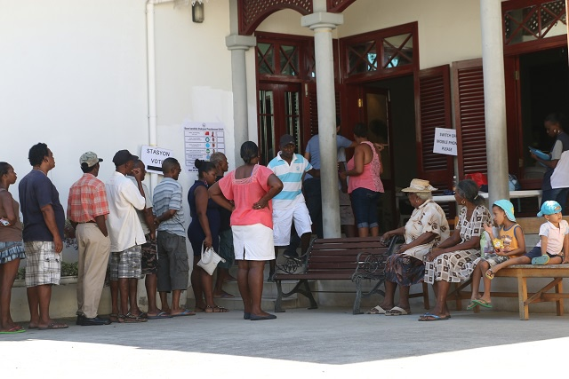 Final day of voting gets underway in 'highly contested' Seychelles presidential election as electorates choose among six candidates