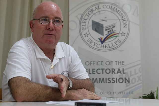 Latest figure shows 67 percent of Seychellois voters have cast their ballots - voting still ongoing past official closing time