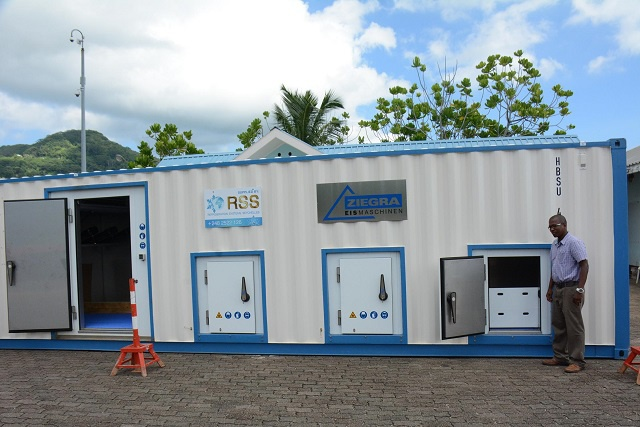 New ice plants for Seychelles Blue Economy