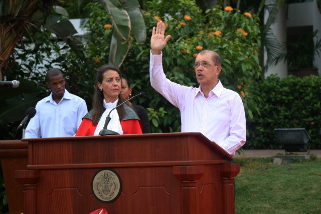 Seychelles President James Michel sworn into office, sets 100 days to address 'urgent priorities'