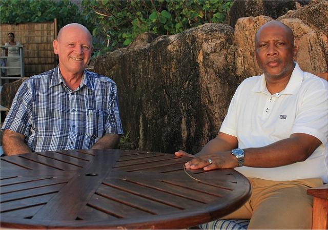Un roi était en visite aux Seychelles