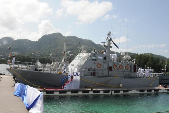 Speedy boat from India boosts Seychelles' Coast Guard