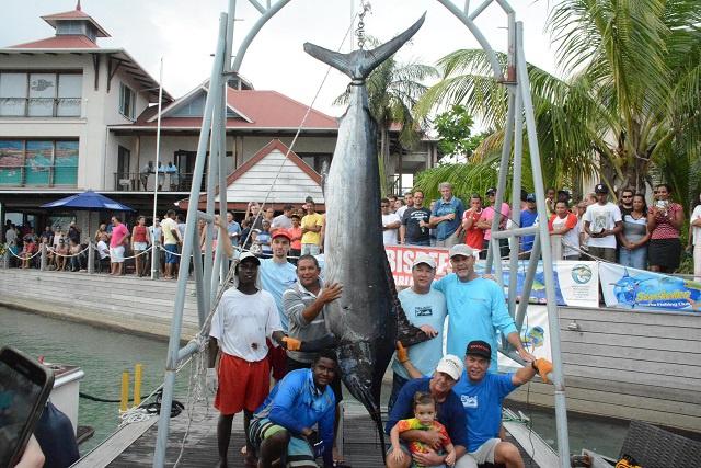 Island Star makes it three in a row, wins Seychelles Marlin tournament