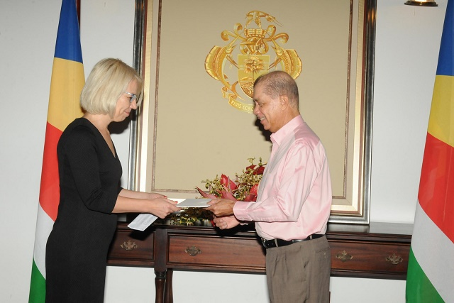Finland's new ambassador to Seychelles has eye on energy projects, maritime security