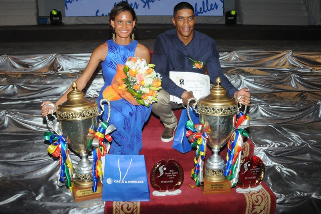 Sailor and high-jumper clinch Seychelles top sports titles for 2015