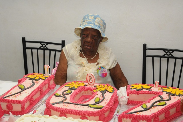 Seychellois centenarian dances through birthday 107