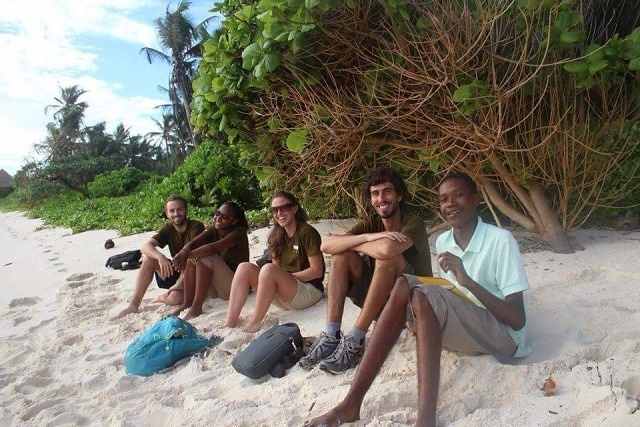 Fregate Island shows off its wild side to Seychelles maritime students