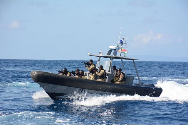 """""""L'exercice militaire USA -Seychelles devrait apporter ses fruits à l'avenir"""" a dit un commandant américain"""
