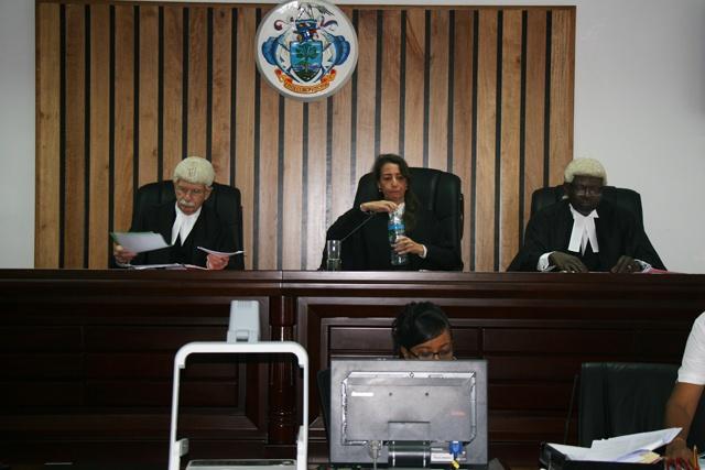 La justice des Seychelles commence à écouter le recours du SNP contre les résultats de l'élection présidentielle.