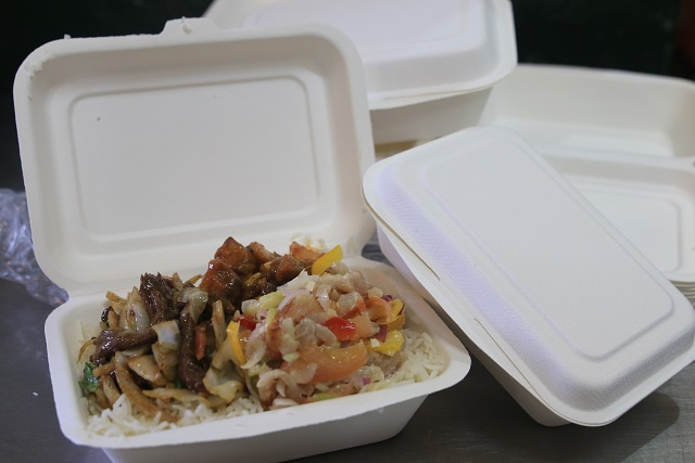 Sweet lunchbox: Jules Takeaway in Seychelles replaces styrofoam with biodegradable sugar cane