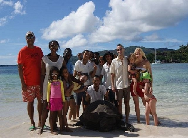 After 60 years as a household pet, Seychelles' three-legged giant tortoise retires to sanctuary
