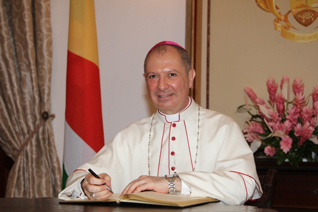 Newly accredited Vatican ambassador is keen on promoting Seychelles-Holy See relations