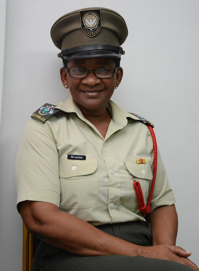 Military not just any other job, says Seychelles' newly promoted -- and only -- female major