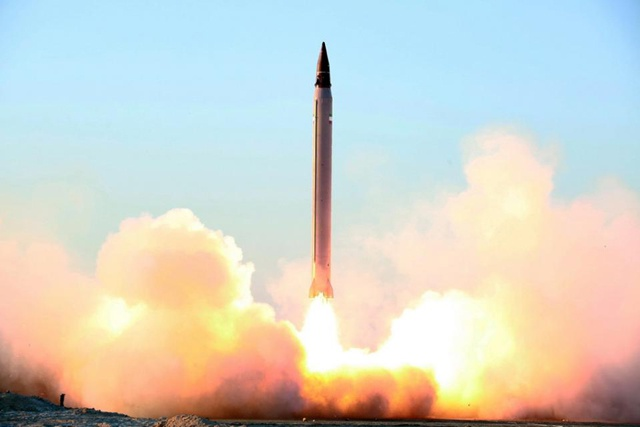 Iran fires ballistic missiles in new test: state media