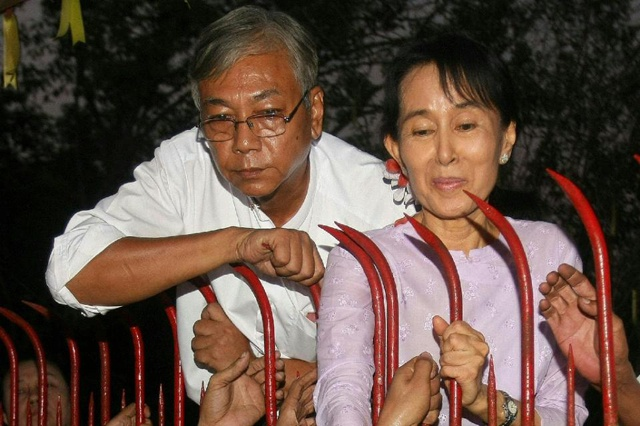Suu Kyi's former driver nominated for Myanmar president