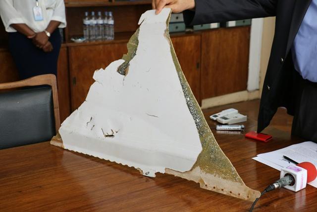 MH370: un nouveau débris d'avion va être envoyé en Anstralie