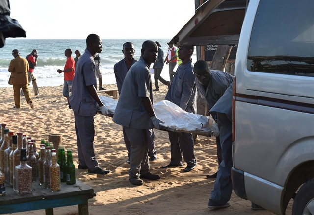 Al-Qaeda claims deadly attack at Ivory Coast beach resort