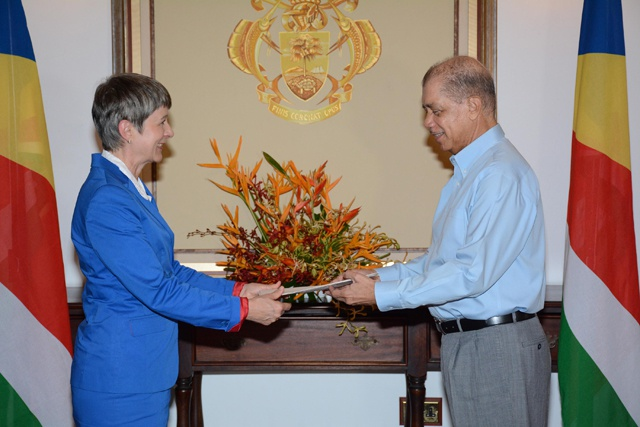 Maritime security a key focus of cooperation, says Germany's new ambassador to Seychelles