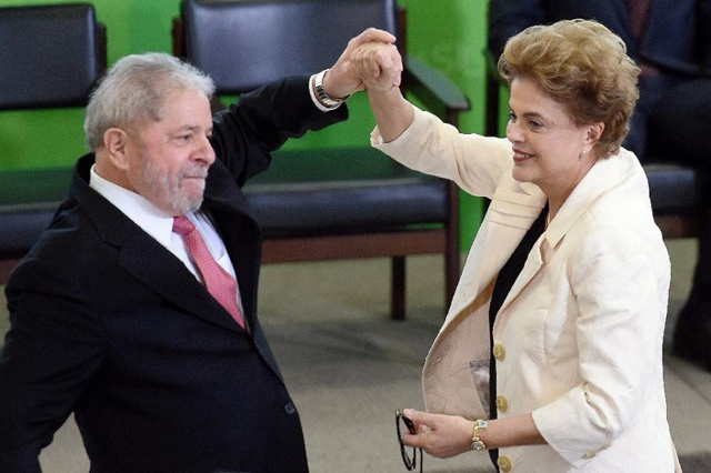 Brazil president impeachment drive revived, Lula blocked