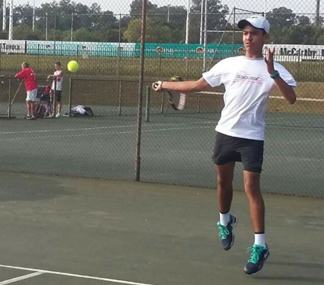Young tennis player wins Seychelles' first gold medal in African junior championship