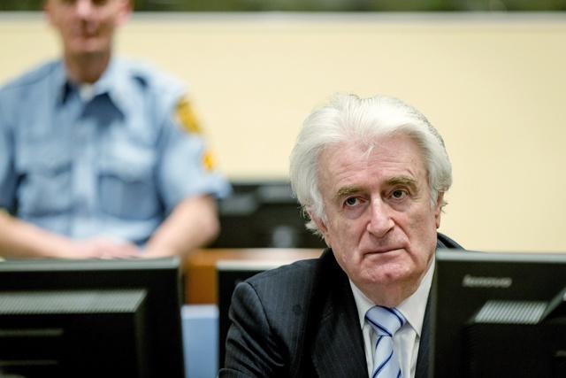 Radovan Karadzic coupable de génocide, condamné à 40 ans de prison