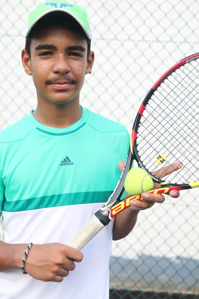 Q&A: Seychelles' 14-year-old tennis phenom hopes to play a Grand Slam