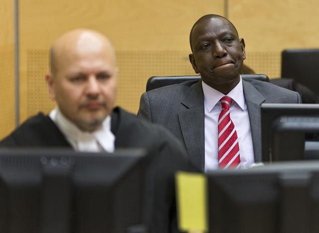 War crimes judges drop charges in Kenya Ruto case