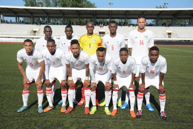 Seychelles' football team moves up 13 places in FIFA  rankings