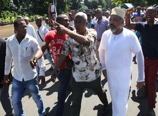 Two-way showdown in Comoros presidential election