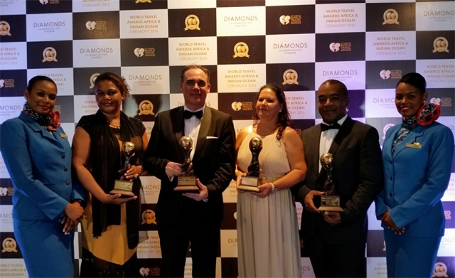 Air Seychelles wins multiple accolades at World Travel Awards 2016