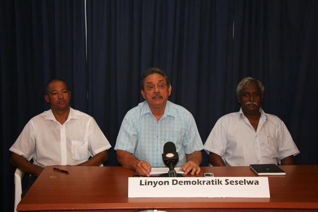4 political parties form the 'Seychellois Democratic Alliance'