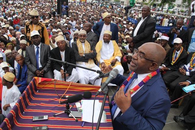 Former coup leader Assoumani elected Comoros president