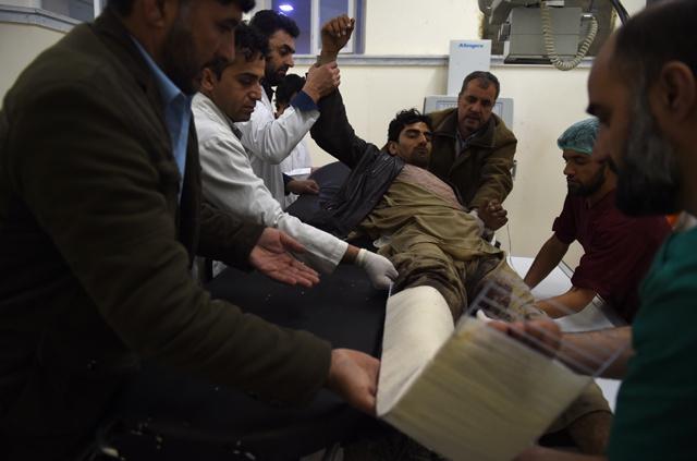 Heavy casualties as Taliban suicide bombing, gunfire rattle Kabul