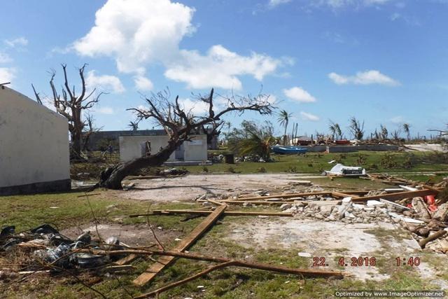 Les Seychelles déclarent Farquhar zone sinistrée après le passage de Fantala.