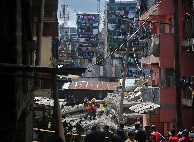 Kenya building collapse toll rises to 21