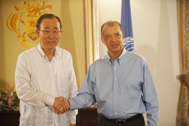 IN SEYCHELLES: UN leader commends island nation's leadership on global issues