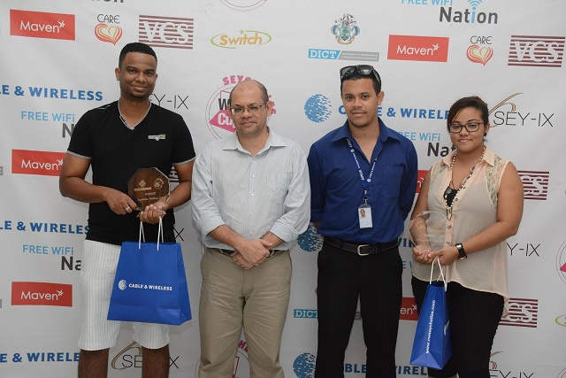 'Unexpected win,' says Seychellois duo in the 2016 Webcup final