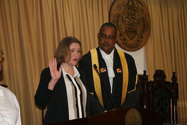 Une femme nommée Leader de l'opposition au parlement des Seychelles